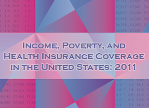 image of Income and Poverty 2011 cover design