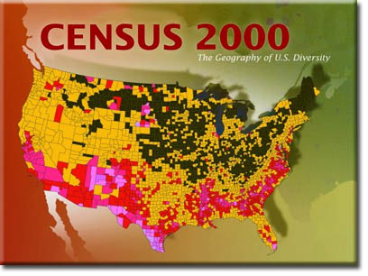 Census 2000 map
