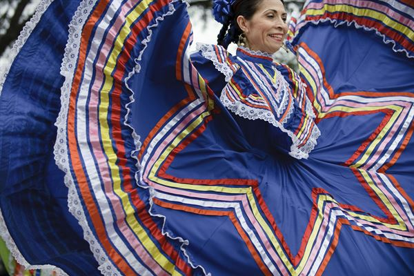 Mexican Dancer courtesy of Joint Base San Antonio