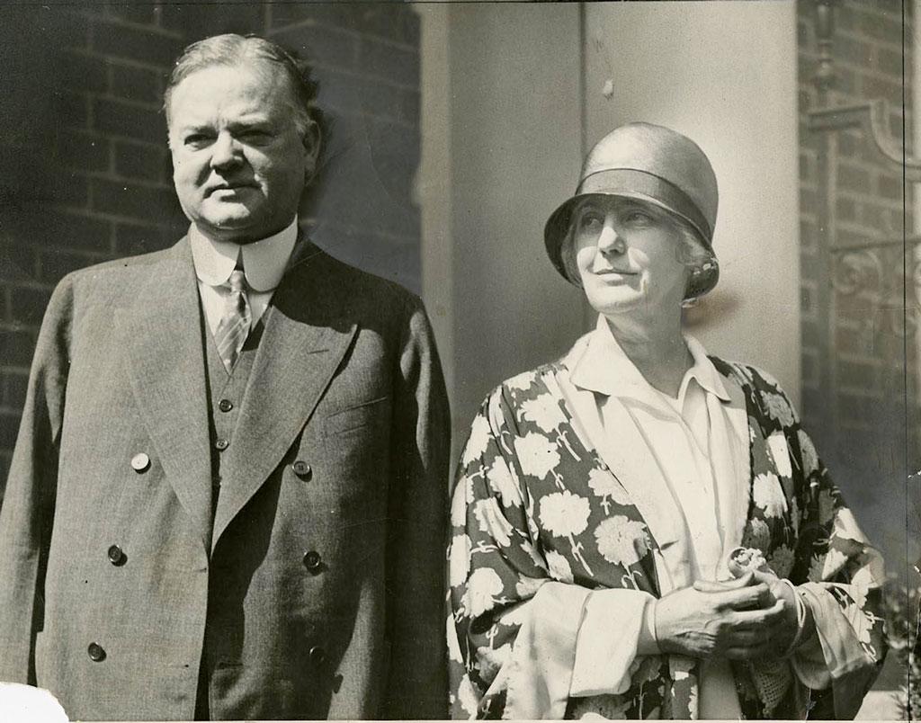 Herbert and Lou Hoover, 1928