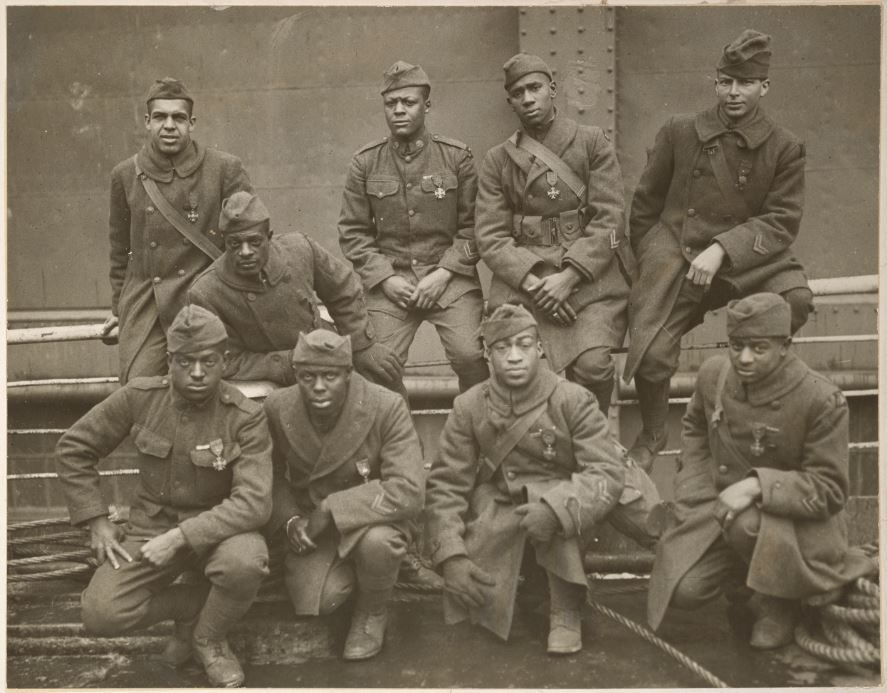369th Infantry Regiment Soldiers