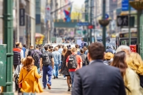 Estimates out today show U.S. population grew 0.5% to 328.2 million from July 2018 to July 2019. The nation is still growing but at a slower rate since 2015.