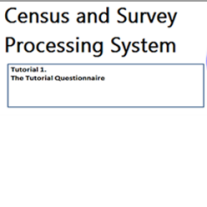 The first tutorial in this series demonstrating how to use CSPro. This tutorial examines the sample questionnaire.