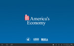 Screenshot of America's Economy App: Main